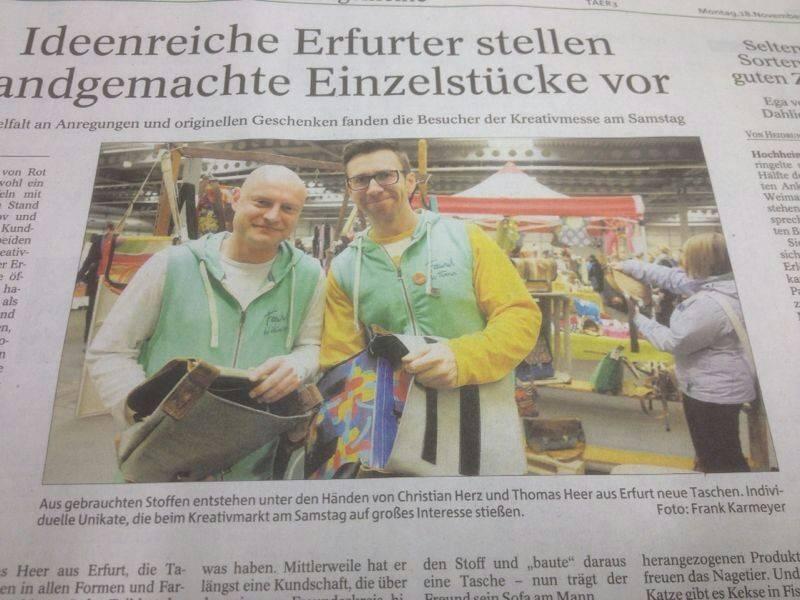 Fawwi in der Thüringer Allgemeinen