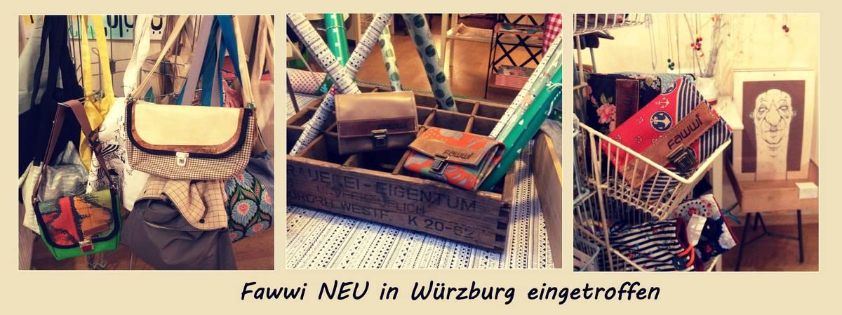 Fawwifamilie in Würzburg eingetroffen
